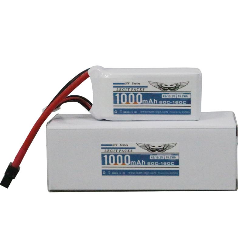 Team-Legit 4S 1000mAh 80C High-Voltage Battery