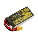 Tattu R-Line Version 3.0 1550mAh 14.8V 120C 4S1P Lipo, XT60