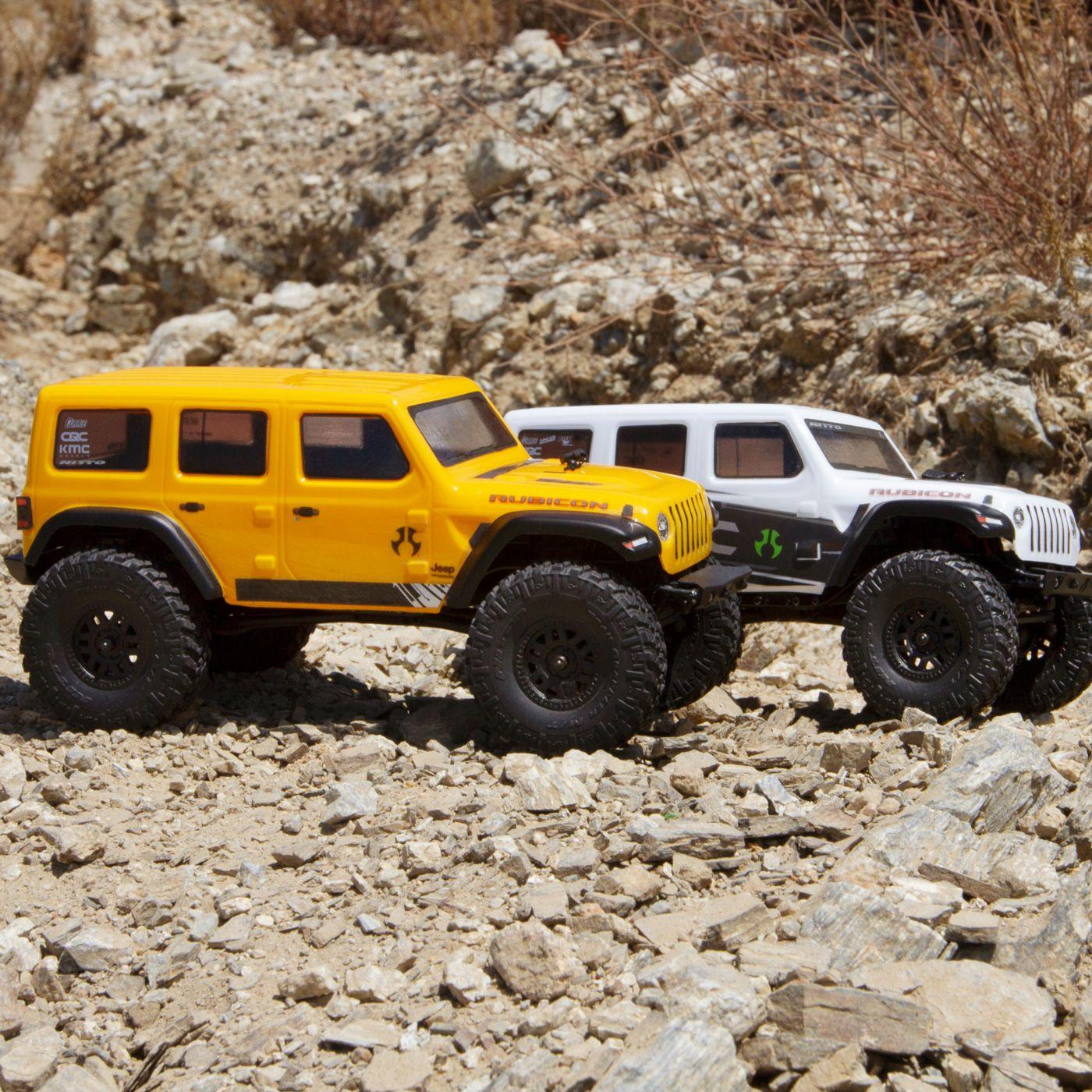 Axial 1/24 SCX24 2019 Jeep Wrangler JLU CRC Rock Crawler