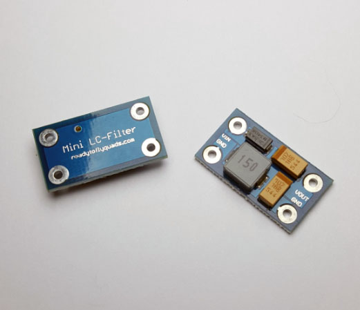 Mini LC Power Filter for FPV, 2-4S 3A