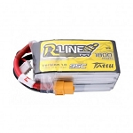 Tattu R-Line Version 3.0 1800mAh 14.8V 120C 4S1P Lipo, XT60