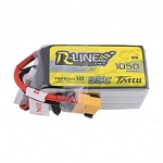 Tattu R-Line 1050mAh 95C 6S1P Lipo Battery, XT60