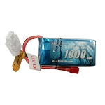 Gens ace 1000mAh 2S 45C Lipo Battery, Deans