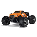 ARRMA 1/10 GRANITE 3S BLX 4WD Brushless Monster Truck with Spektrum RTR, Orange/Black