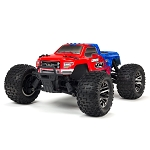 ARRMA 1/10 GRANITE 3S BLX 4WD Brushless Monster Truck with Spektrum RTR, Red/Blue