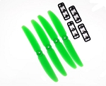 DYS 5030 ABS 5X3 OEM Propellers 2 Pairs (4 props)  ( GREEN )