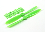 DYS 6045 6X4.5 Inch ABS Propeller 2 Pairs ( GREEN )