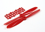 DYS 6045 6X4.5 Inch ABS Propeller 2 Pairs ( RED )