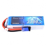Gens ace 22.2V 60C 6S 3300mAh Lipo Battery, EC5