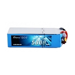 Gens ace 22.2V 60C 6S 5000mah Lipo Battery, EC5