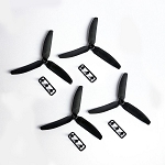 Gemfan 5030 Tri-blade Black (set of 4)