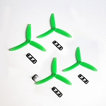 Gemfan 5030 Tri-blade Green (set of 4)