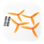 Gemfan 5030 Tri-blade Orange (set of 4)