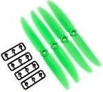 Gemfan 6045 Green (Set of 4)