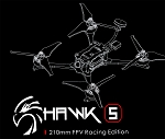 EMAX Hawk 5 Racing Quadcopter, BNF FrSky
