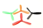 DYS Tri Blade 5045 5x4.5 BN (Orange) 1L1R Carbon Nylon Propellers
