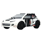 Losi 1/24 4WD Rally Car RTR Grey/White