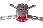 Shredder 330mm Quadrotor Kit w/ LED PDB (G10)