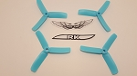 Team RaceKraft 4040x3 Race Prop 2CW 2CCW Light Blue