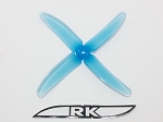 Team RaceKraft 5040x4 Race Prop 2CW 2CCW Clear Blue