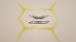 Team RaceKraft 5040x3 Race Prop 2L2R Clear Yellow