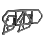 RPM Rear Bumper, Black: Slash