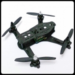 SWH170 Mini Quad Frame w/PDB and Skirt by Skunkworx Hobbies