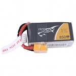 Tattu 850mAh 75C 3S1P Lipo Battery, XT60