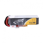 Tattu 11.1V 75C 450mAh 3S1P Lipo, XT30, Long