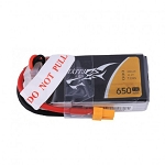 Tattu 3S1P 75C 11.1V 650mAh Lipo Battery, XT30