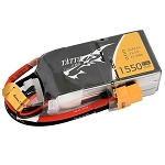 Tattu 1550mAh 11.1V 75C 3S1P Lipo Battery, XT60