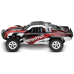 Traxxas Slash 2WD, TQ 2.4 Radio, Red (No battery)