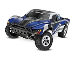 Traxxas Slash 2WD, TQ 2.4 Radio, Blue (No battery)