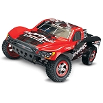 Traxxas Slash 2WD RTR w/TQ 2.4 Radio, Mark#25 Red/Black