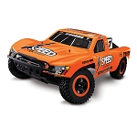 Traxxas Slash 2WD RTR w/TQ 2.4 Radio, Gordon#7 Orange