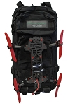 Microrapor Pro Universal Transmitter and Battery Backpack (For Mini Quads)