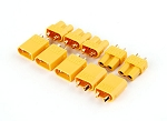 Yellow Genuine XT30 Connectors - Male