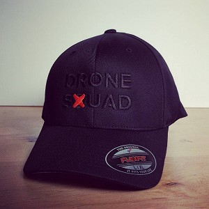 Drone Squad Black LED Hat LRG-XL