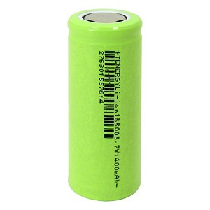 Tenergy Li-Ion 18500 3.7V 1400mAh Battery for FrSky X-Lite