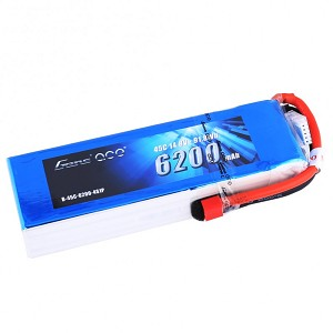 Gens ace 4S 6200mAh 45C Battery (Deans)