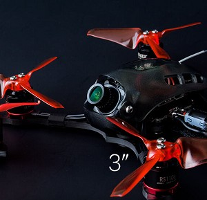 EMAX Baby Hawk R 3-inch, FrSky BNF Brushless FPV Quadcopter