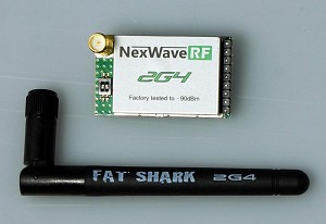 Fat Shark Dominator 2.4GHz NexwaveRF Receiver Module