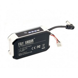 Fat Shark Replacement Battery 1800mah 2s