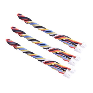 5 pin silicone cable for TBS UNIFY PRO HV/Race RunCam Swift 2 only