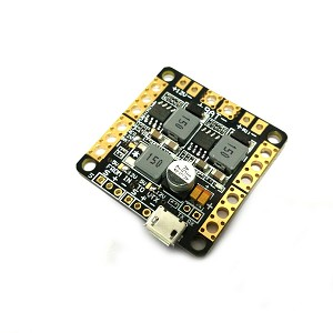 Dual Power Distrobution Board W/ OSD and Dual Voltage 5v 12v 3 amp Bec