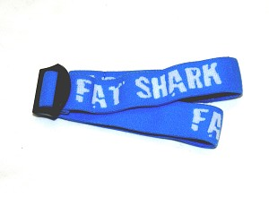 Fat Shark Blue Dominator Goggles Replacement Head Strap ( DomV2 & DomV3 )