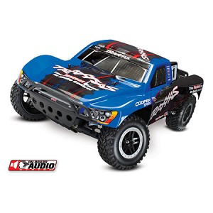 Traxxas Slash 2WD RTR OBA w/Audio, TQ 2.4 Radio, Blue