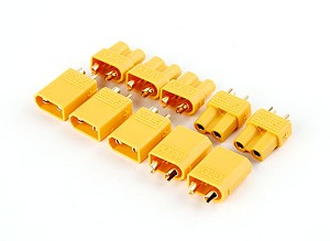 Yellow Genuine XT30 Connectors - Female