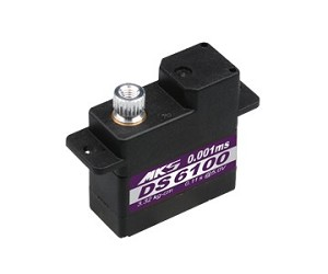 MKS DS6100 Servo (9.5g, 0.11 sec/60°, 46.1 oz/in @5V)