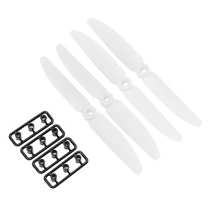 Gemfan 5030 White (Set of 8)